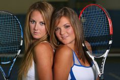 Who's the most famous #tennis duo in #Poland? The Radwańskie sisters! Do you think they're a match for the Williams sisters? Who's your favourite tennis player?  (Photo by Mateusz Skwarczek)    http://edition.cnn.com/2013/03/21/sport/tennis/tennis-agnieszka-urszula-radwanska-poland