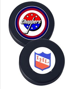 Albany Choppers Hockey Fun Puck  -- official weight 6oz, fun puck