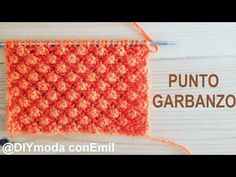 Cómo tejer punto garbanzo a dos agujas paso a paso - YouTube Diy Crafts Knitting, Easy Knitting Patterns, Afghan Crochet Patterns, Knitting Stitches, Free Knitting, Baby Knitting, Free Crochet, Knitting Videos, Crochet Videos