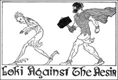 willy pogany | Thor appears to be the only one to keep Loki somewhat in check