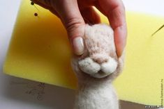 Felted Easter Bunny for Beginners, фото № 15 Happy Easter, Easter Bunny, Arrow Show, Parts Of The Nose, Beatrix Potter, Diy Stuffed Animals, Cute Bunny, Wool Felt, Teddy Bear
