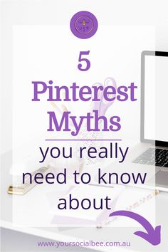Do you use Pinterest to market your small business? Or are you under the impression that Pinterest is only successful for certain business types? Discover the truth about 5 common Pinterest myths here. #pinterestmarketing #pinteresttips Seo Marketing, Digital Marketing, Business Tips, Online Business, Pinterest Design, Pinterest For Business, Pinterest Marketing, Social Media Tips, Are You Happy