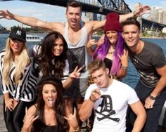 Geordie Shore - car crash telly, but I love it!!