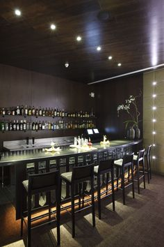 Bar at the Gran Melia Palacio de Isora   Galo Rosas   Archinect