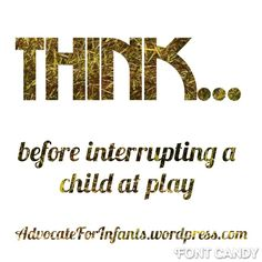 Advocate for Infants - sharing knowledge about working with infants and toddlers