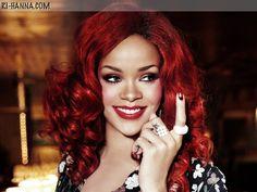 I am loving my new Rhianna Red Hair...I think I will keep it this way ;)