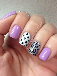Young Wild and Polished: Kitchen Sink Mani's Make Me Happy!!