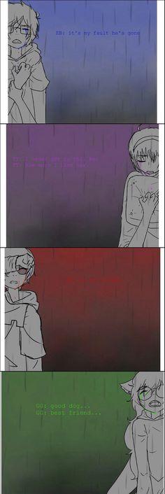 Sadstuck>>>> WHO DAFUQ SAID THAT THIS WAS OKAY TO MAKE!? ARE YOU TRYING TO MAKE ME CRY!?