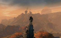 Good shot of Ashford in Old Ascalon as it looks in Guild Wars 2