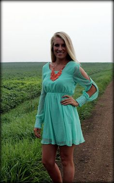 9a4b2e1fbcf Rock Me Mama Mint Dress  Filly Flair I want everything from this website  (