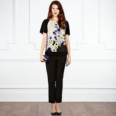 Coast - Eliza Printed Top- at Debenhams.com