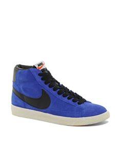 Nike Blazer Mid Suede Trainers
