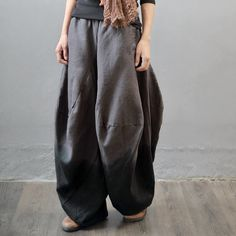 b084e70c64 Harem Trousers, Casual, Legs, How To Wear, Wide Leg, Fashion,