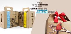 Gable Boxes and Handle Boxes are two of the most prominent choices of numerous brands around the globe.  #packaging #gableboxes #handleboxes #difference #qualityboxes #custom #GoCustomBoxes #USA Corrugated Packaging, Gable Boxes, Packaging Solutions, Single Sheets, Custom Packaging, Custom Boxes, Box Design, Biodegradable Products, Choices