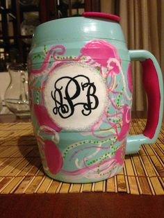 Hand Painted 52 oz. Bubba Keg by TotalSratMove on Etsy LOVE THIS...Jellies Be Jammin!