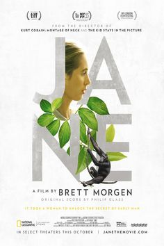 JANE (2017): New documentary on Jane Goodall. 'Stunning achievement. One of the best documentaries of 2017.'