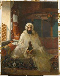 Stanislaus von Chlebowski | Portrait d'Abd-el-Kader peint à Constantinople | Images d'Art