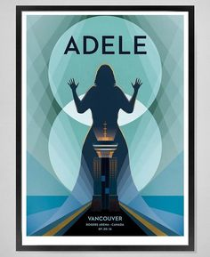 Adele at 'Pepsi Live at Rogers Arena', Vancouver (July 20) poster