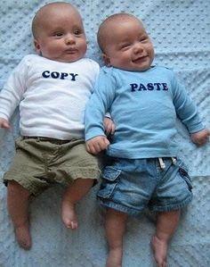Cute idea for twins