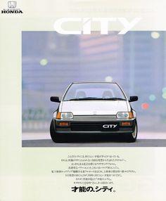 Honda City Mk2 Japan Brochure 1986