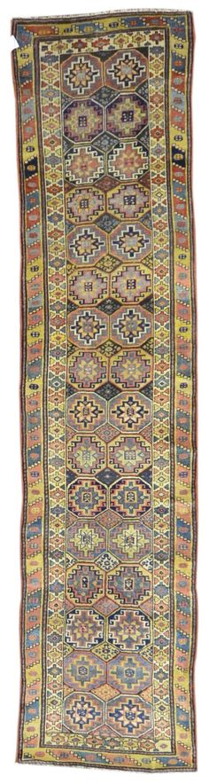 Antique Caucasian Rug Gt Design 1497 3 0 X