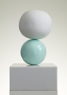 Gary Hume,Marble 1, 2014.Marble, gloss paint and corian.