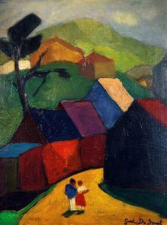 Gustaaf De Smet (1877-1943) was een Vlaams kunstschilder. Samen met Constant Permeke en Frits Van den Berghe behoort hij tot de grote drie van het Vlaamse Expressionisme. Hij signeerde zijn werken vaak met Gust. De Smet.