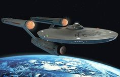 Constitution-class starship USS Enterprise. Its famous 5-year mission captained by James T. Kirk made it a legend in Starfleet history. It would go on to various missions, refits, only to self-destruct over the Genesis planet by her last commander, the then-Admiral Kirk.