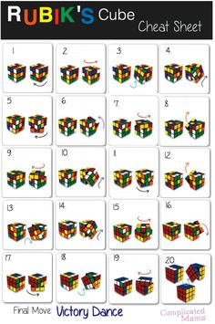 Image result for how to solve a rubix cube
