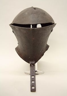 Tournament Helm ca. 1475–1500 Italian Steel