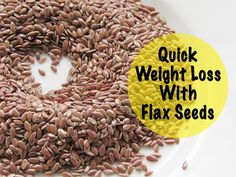Quick Weight Loss  With Flax Seeds - Health Benefits Of Flax Seeds #lose #weight #fast #quickweightloss #nisahomey #flaxseeds #flaxseedforweightloss