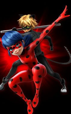 Ladybug et Chat Noir Little Pets, Little Pet Shop, Miraculous, Ladybug, Deadpool, Mlb, Hearts, Lady Bug