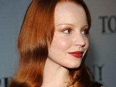 Copper, a classic hair shade, has been a showstopper for decades. Red Copper Hair Color, Lauren Ambrose, Hair Shades, Hair Beauty, Hair Colors, Tops, Hair, Haircolor, Hair Color