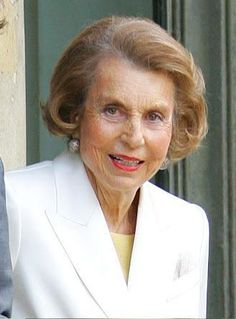 Liliane Bettencourt - Alchetron, The Free Social Encyclopedia Female Stars, Rich People, Top Of The World, Messy Hairstyles, Powerful Women, Billionaire, Your Hair, How To Make Money, Image