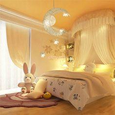 LEDペンダントライト 照明器具 子供屋照明 玄関照明 吹き抜け照明 星&月特集 LED対応 5灯 取付簡単