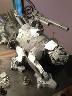 What I imagine happens if you cross Orks with Zoids!
