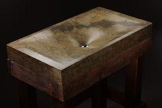 раковины из бетона Pietra Danzare