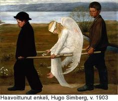 Hugo Simberg, Wounded Angel