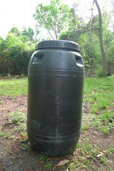 The New Me: How to Make a Rain Barrel