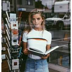Marina Laswick (Dukes) for Brandy Melville! — marooshk Explored a ton of vintage shops today with @maddywelk. I also got pooped on by a bird, so that was fun.