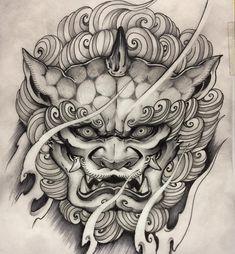 Popular Tattoos and Their Meanings Hannya Tattoo, Mask Tattoo, Irezumi Tattoos, Leg Tattoos, Body Art Tattoos, Tattoos For Guys, Dragon Tattoos, Tiger Tattoo, Tattoo Ink