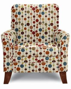 Love the look of this chair, but don't think the white background is a good idea.  Plus it is a recliner!