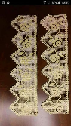 52 Ideas For Crochet Lace Heart Crafts - Diy Crafts Filet Crochet, Crochet Lace Edging, Crochet Borders, Cotton Crochet, Crochet Stitch, Crochet Doilies, Hand Crochet, Crochet Patterns, Diy Crafts Crochet