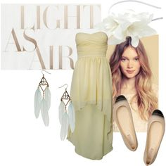Light as Air, created by daniela-bernstein on Polyvore