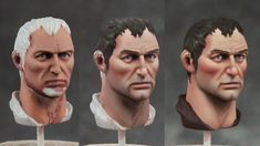 That are a lot of different approaches to painting faces, this is one that has worked for me. The following example is a 54mm face (for Pe...