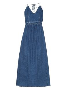 Rachel Comey Palma denim midi dress ($495)