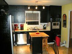 12 Fotos de Cocinas con Gabinetes Color Negro
