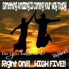 #amazingthings #righton #virtualhighfive #vortexjunkies
