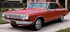 "1963 Dodge ""Dart""    Dart loses it's name and is now simply called Dodge  three inches longer and nicely restyled  the new Dodge enjoys an overall increase in sales"