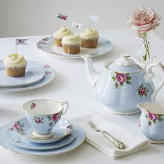 Porcelanas Royal Albert.